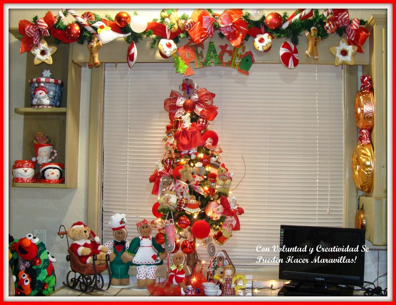 Navidad con patrones decoracion de navidad - Decoracion adornos navidenos ...