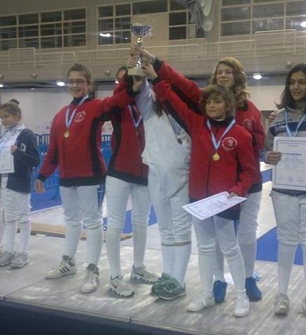 Πρωταθλήτριες Ελλάδας 2015