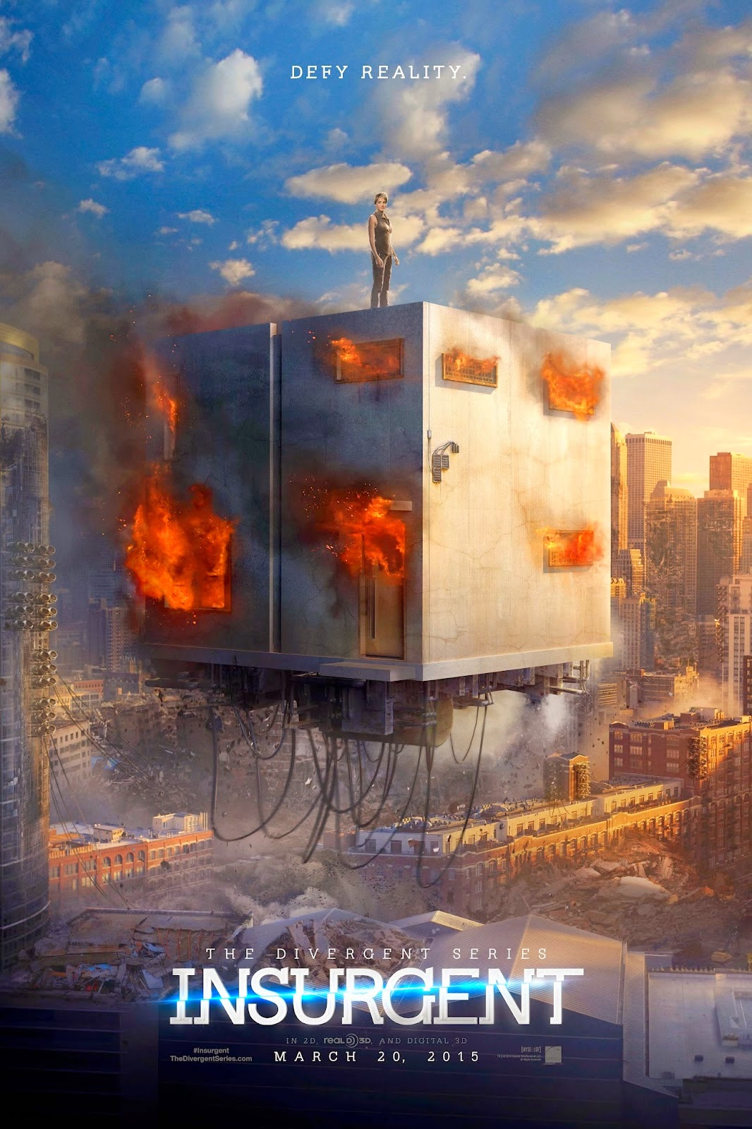 the divergent series insurgent 2015 official trailer