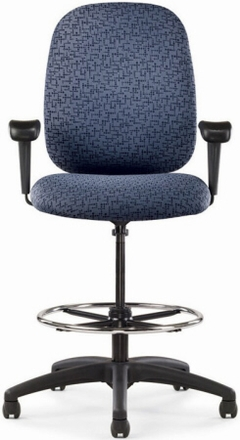 office chair chat allseating 39 s big and tall drafting chairs
