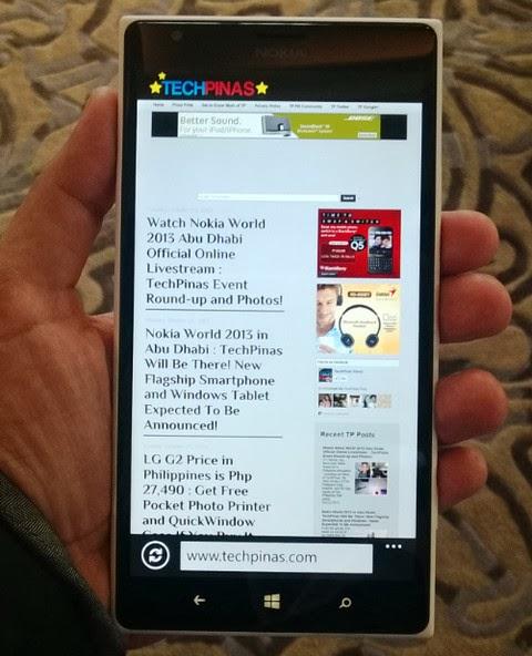 Nokia Lumia 1520 Philippines, Nokia Lumia 1520