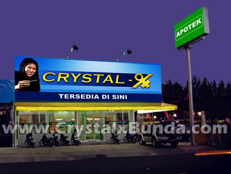 Apakah Apotek Menjual Crystal X