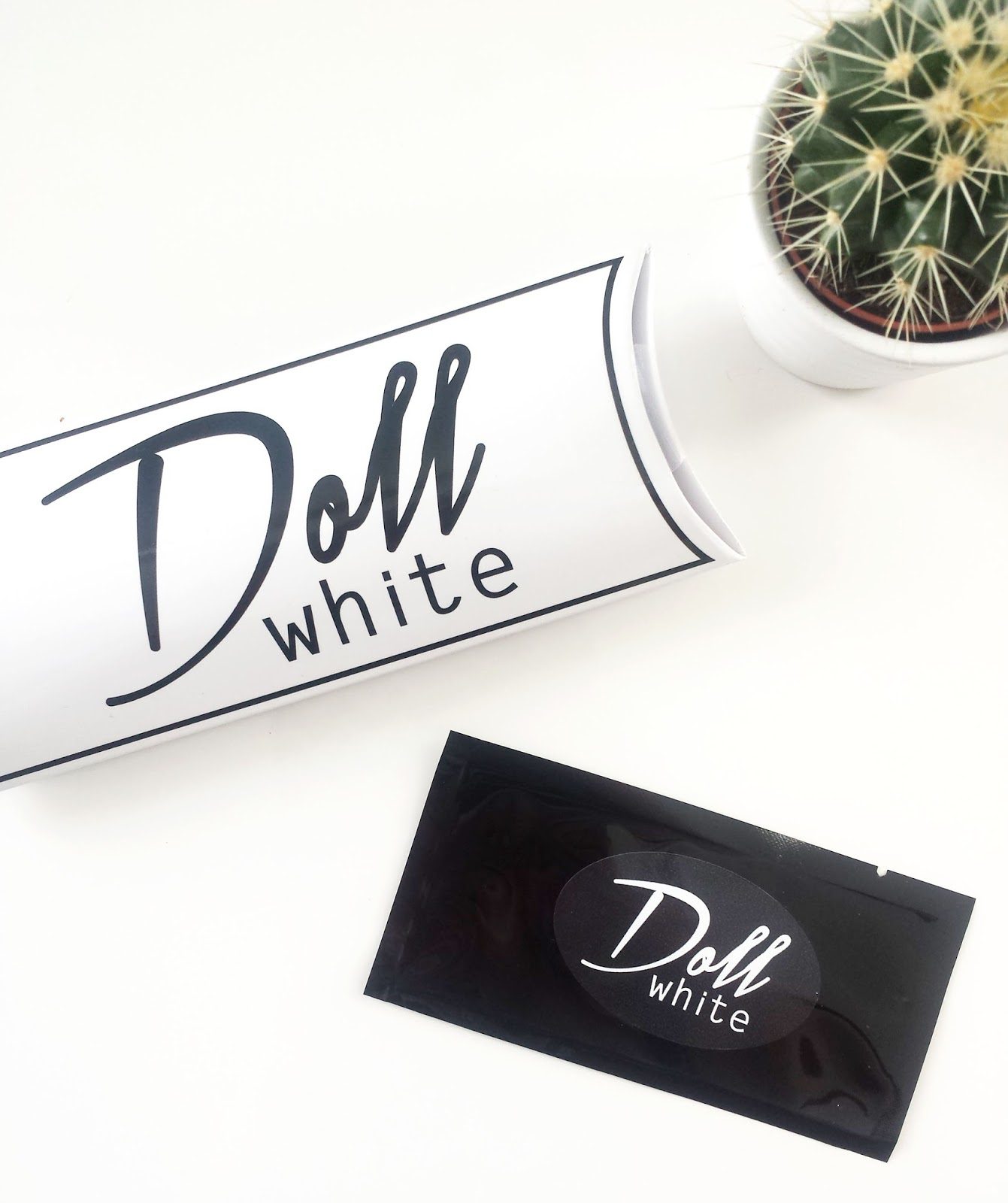 Doll White Teeth Whitening Strips