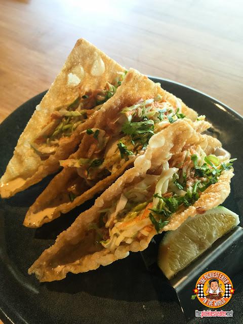 wonton taco