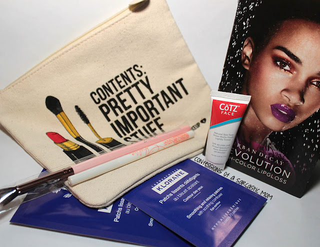 May 2015 ipsy bag review