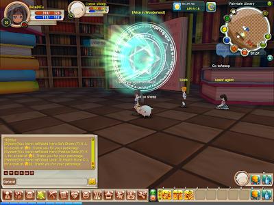 FairyLand 2 Online - Alice in Wonderland Portal