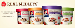Quaker Real Medleys Oatmeal Cups