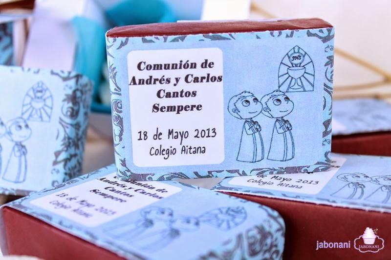 DETALLES DE JABON PARA COMUNION