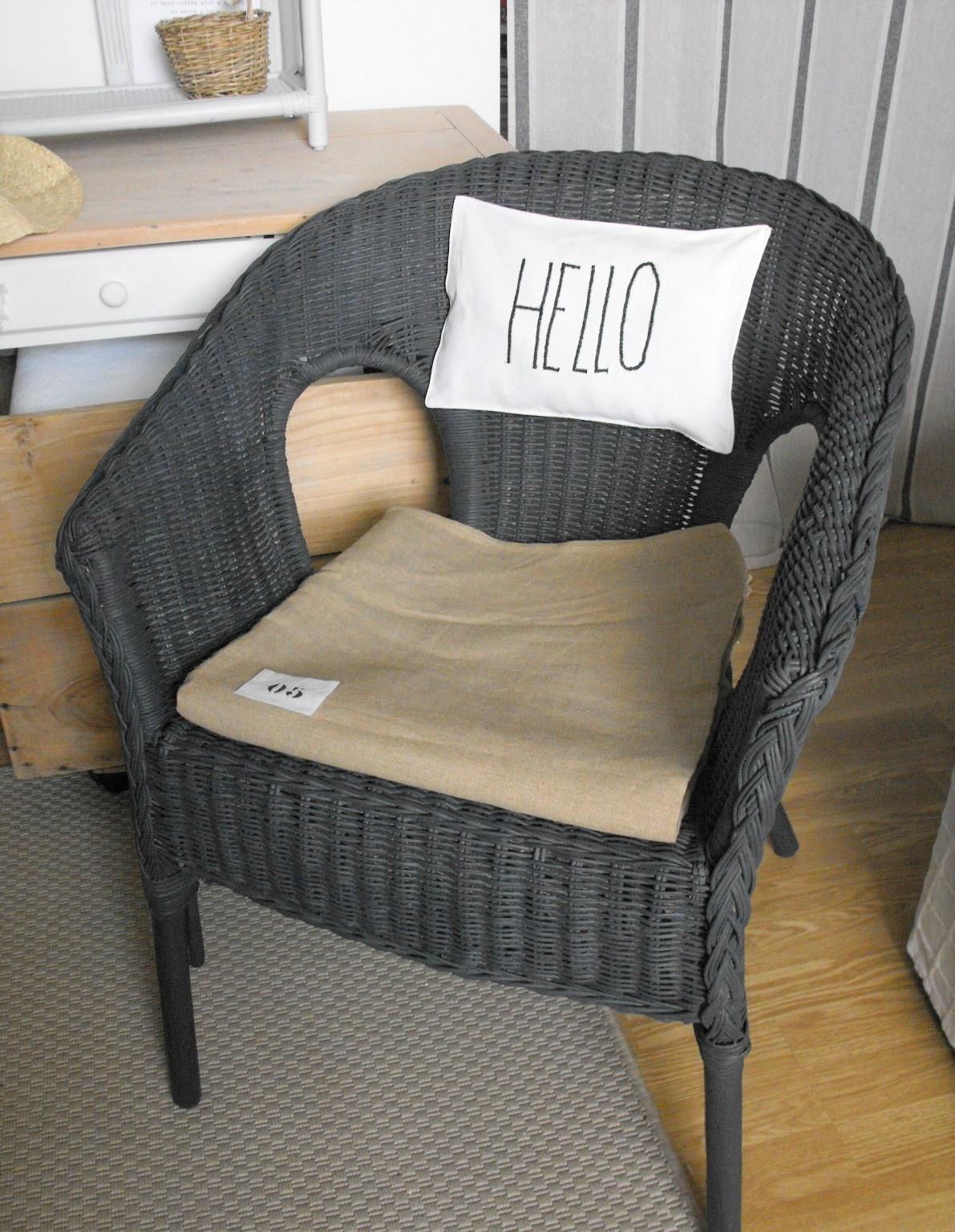 Comptoir ivoire comptoir d 39 antan - Repeindre un fauteuil en osier ...