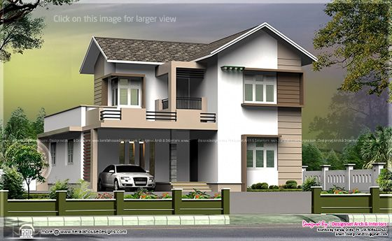 July 2013 kerala home design and floor plans for Small villa plans in kerala