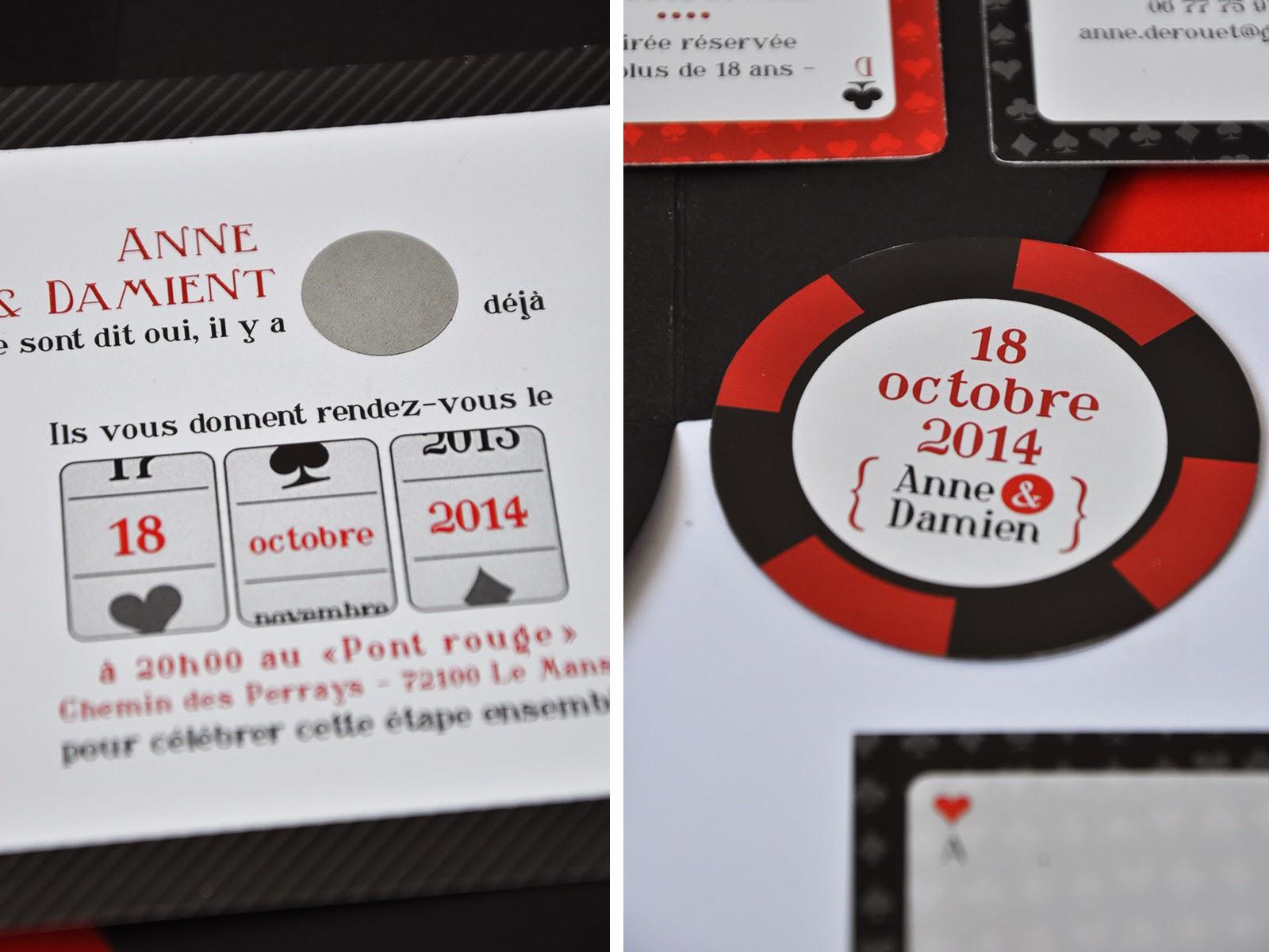 Bien-aimé Arrête de Rêver - Faire-part: L'invitation Casino pour les 10 ans  TG84