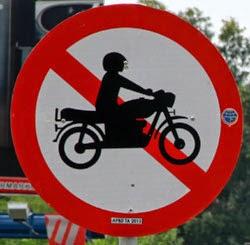 motor dilarang lewat jakarta