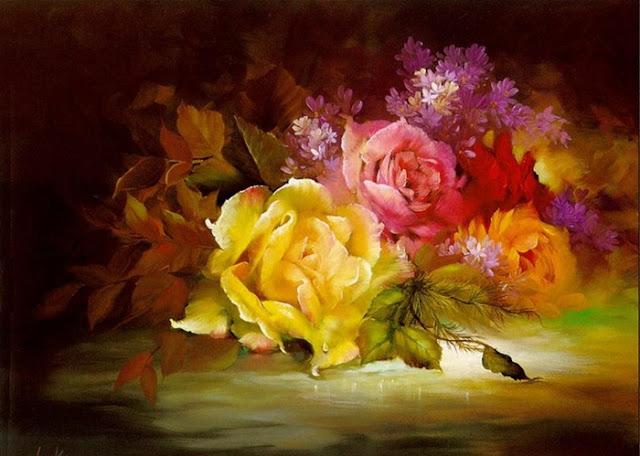 Gary Jenkins | pittore floreale americano