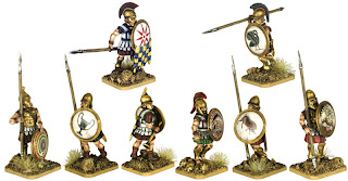 Victrix Mercenary Armoured Hoplites