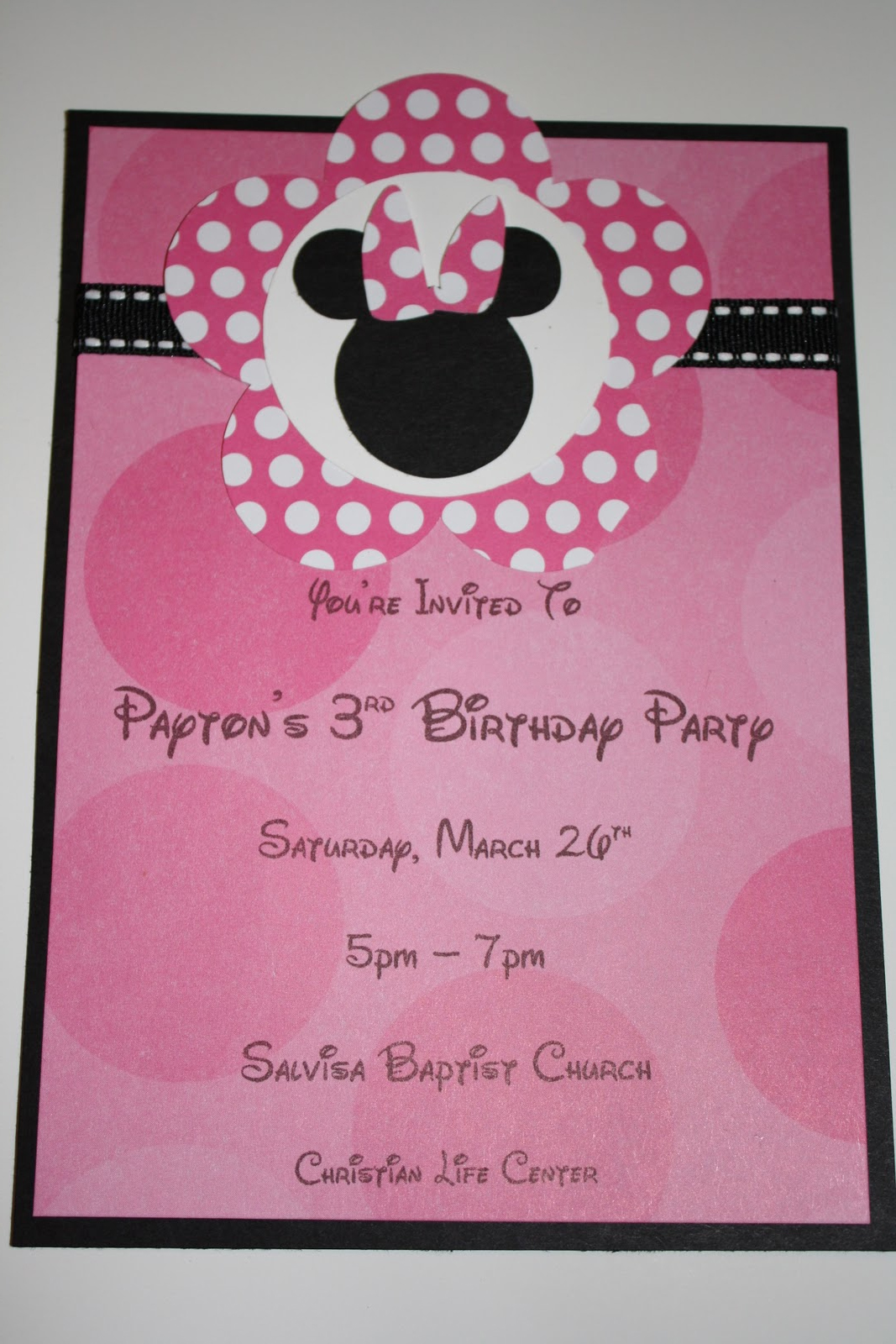 Paytons 3rd Birthday Party