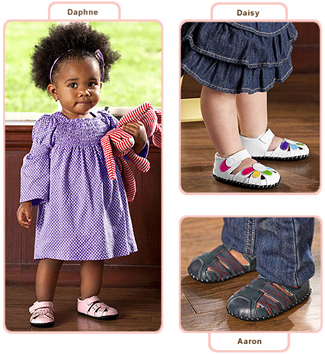 pediped soft soled baby shoes