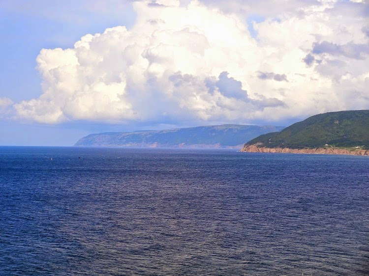 The Cabot Trail Sea Views