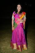 Malavika nair photos in half saree-thumbnail-16