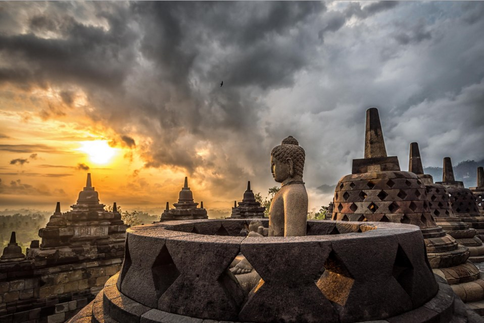 borobudur photogtaphy landscape and art photo consept and tempel photography architectural agung perkasa