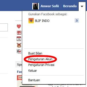 Cara Menonaktifkan Email Pemberitahuan FB