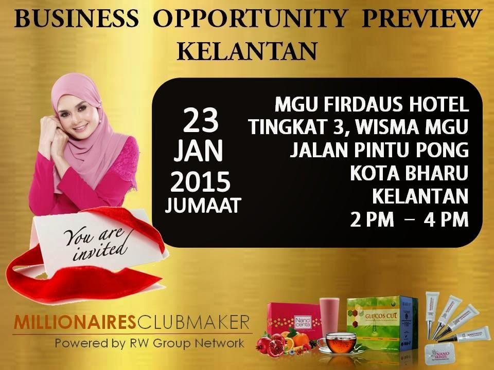 Priview Perniagaan GC Tea di Kelantan