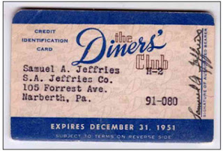 One example of Diners Club credit card
