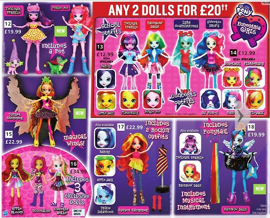 New Equestria Girls Dolls Releasing In The UK