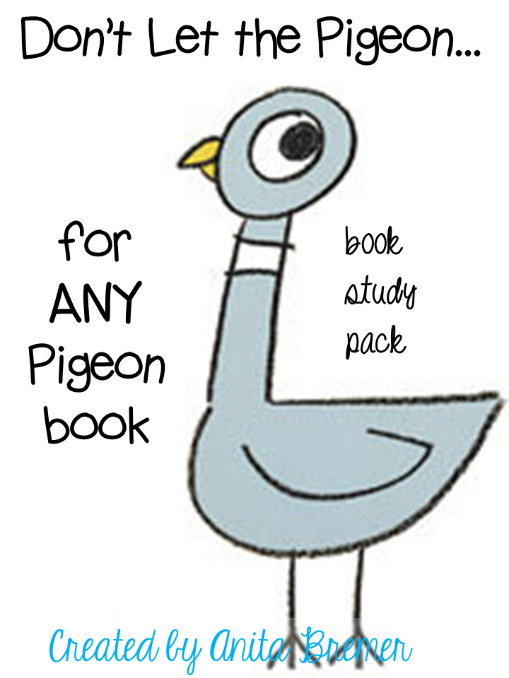 FOR ANY PIGEON BOOK!