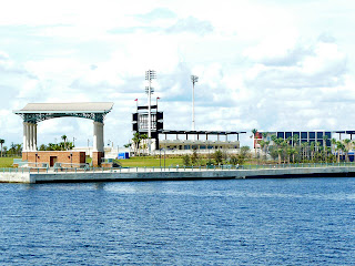 Blue Wahoos Waterfront stadium in downtown Pensacola