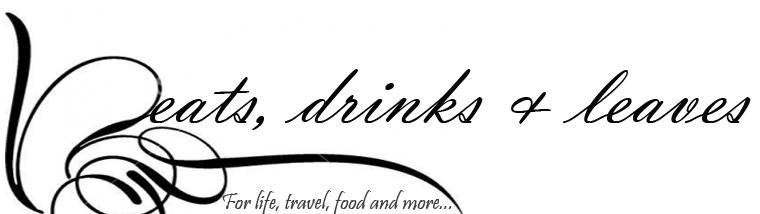 Eats, Drinks & Leaves