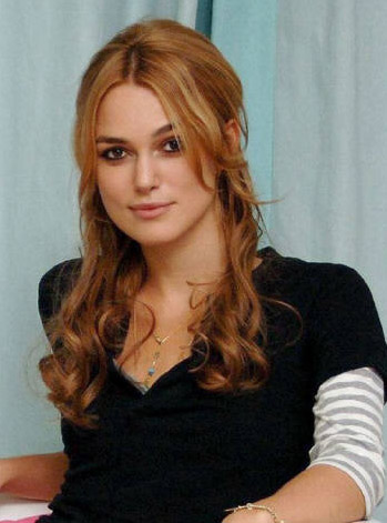 Keira Knightley's Long haircut
