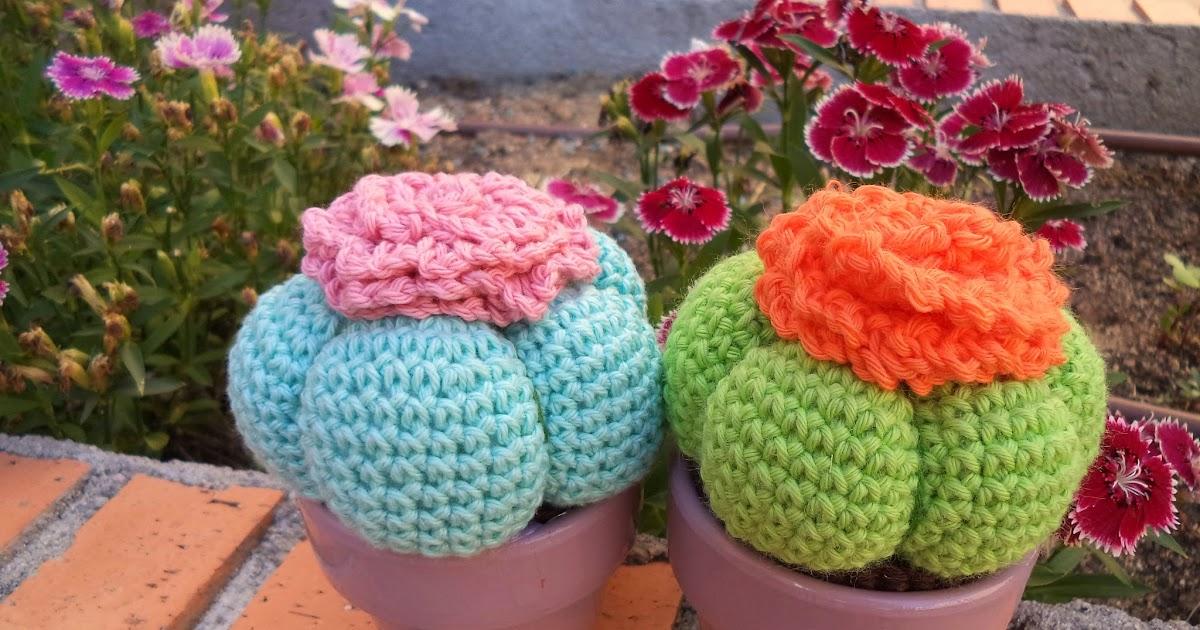 Amigurumi Cactus Paso A Paso : Como tejer cactus a ganchillo amigurumi paso con