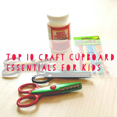 Top 10 craft essentials for kids