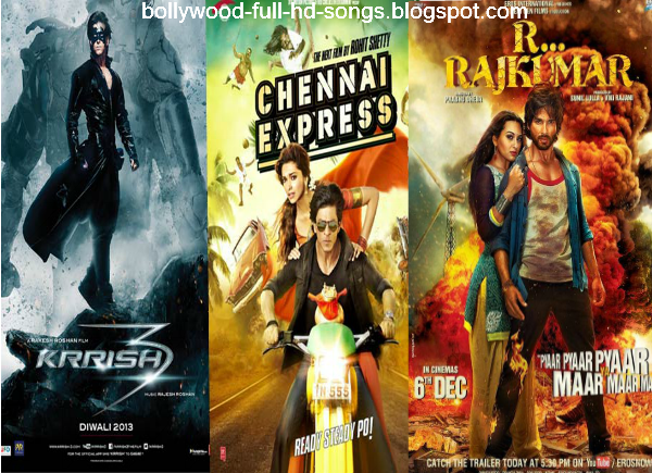 2013) - Ram-Leela (2013) - RRajkumar (2013) - Chennai Express (2013