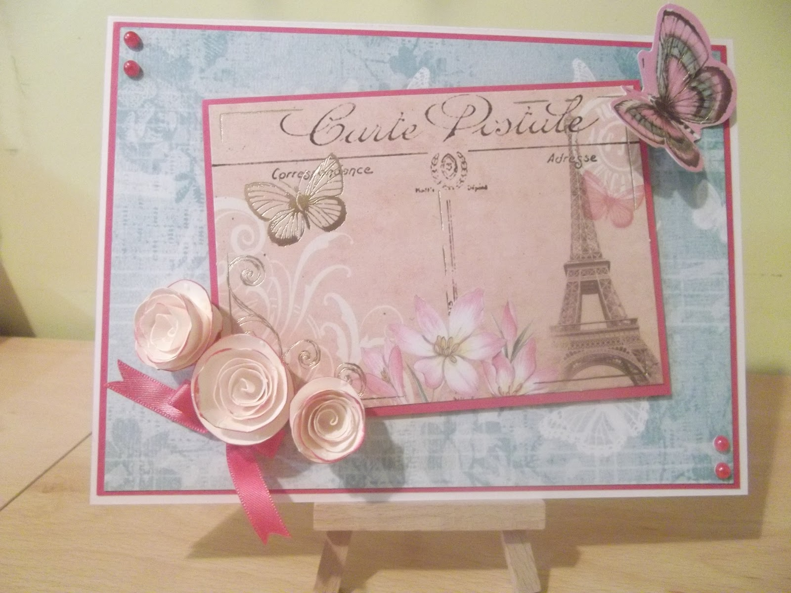 Paris Paper Craft Toppers
