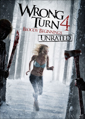 Watch Wrong Turn 4: Bloody Beginnings 2011 BRRip Hollywood Movie Online | Wrong Turn 4: Bloody Beginnings 2011 Hollywood Movie Poster