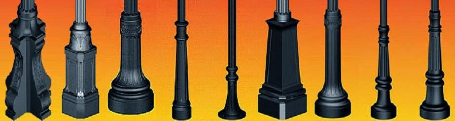 Tiang Lampu Hias, Tiang PJU Antik, Tiang Lampu Taman Deltapole™