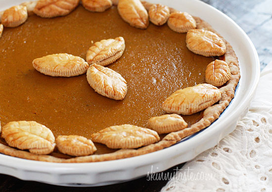 Skinny Pumpkin Pie & Homemade Pumpkin Puree
