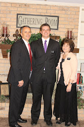 President and Sister Peterson with Elder Nelson