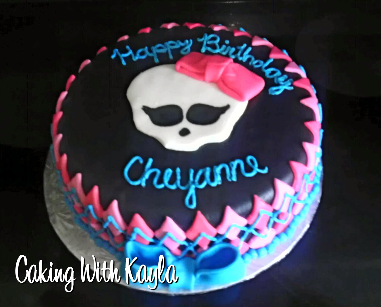 Caking With Kayla Monster High Birthday