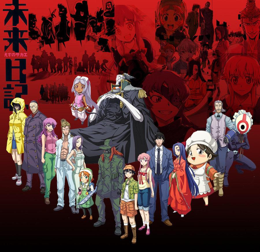 mirai nikki critica a este anime sangriento y psicopata