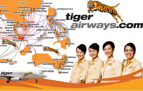Đôi nét về hãng hàng không Tiger Airways