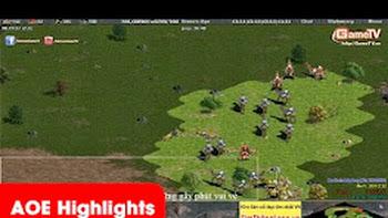 AOE Highlights - Chipboy cầm Persian chém khỏe lạc đà đông như quân nguyên