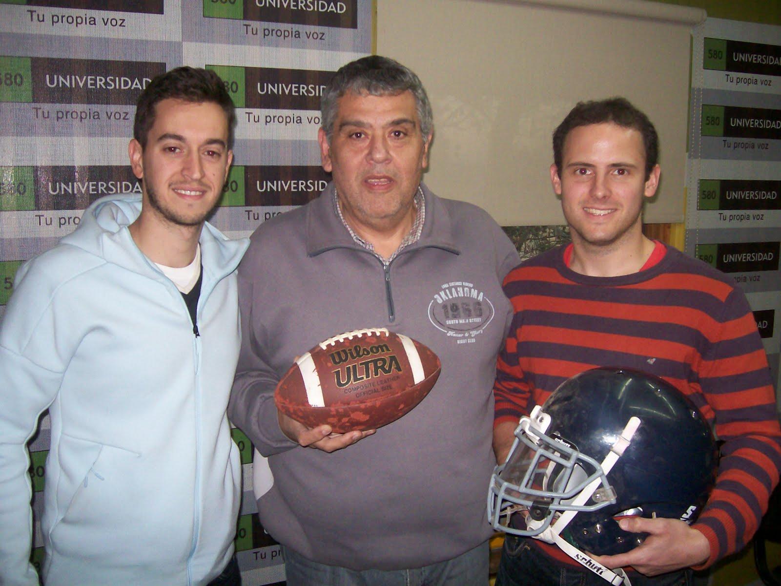 La 580 Deportiva y Córdoba Football Americano