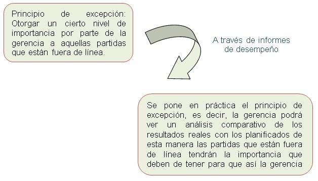 APLICACIÓN DEL PRINCIPIO DE EXCEPCIÓN
