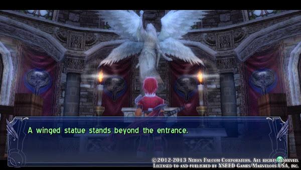 Ys: Memories Of Celceta - Winged Statue