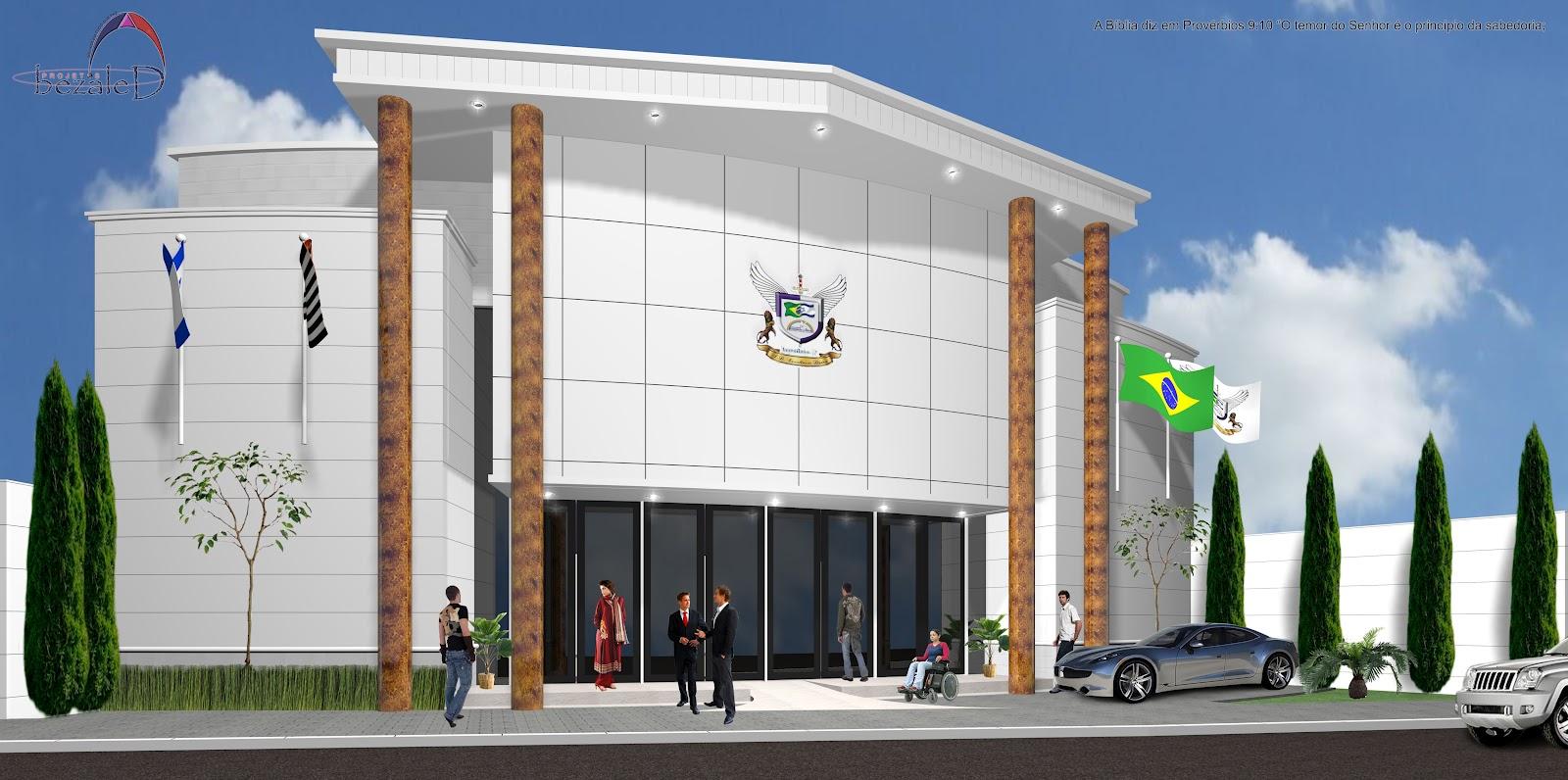 Tudo que faz.: Projeto de Igreja em Taquarituba  Assembléia de Deus #46642A 1600 796