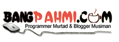Official Blog Of Pahmi Ritonga | Bangpahmi.com
