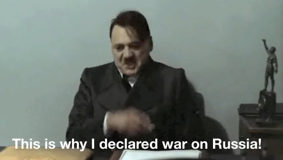 Main Reason Why Hitler Declares War On Russia