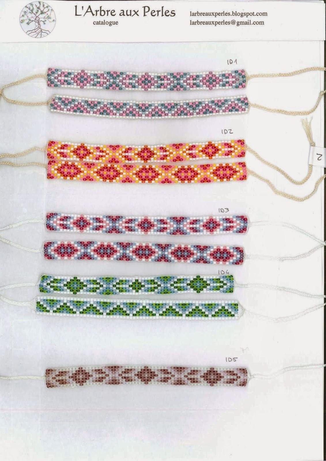 l 39 arbre aux perles bracelets toho catalogue 2 4 collection indiana dream. Black Bedroom Furniture Sets. Home Design Ideas